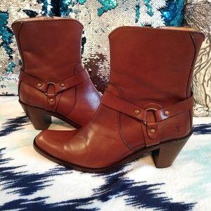 Frye Romy Harness Boots size 8.5